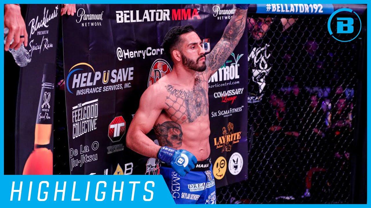 Highlights   Henry Corrales - #Bellator238