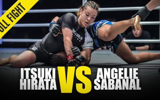 Itsuki Hirata vs. Angelie Sabanal | ONE Full Fight | June 2019