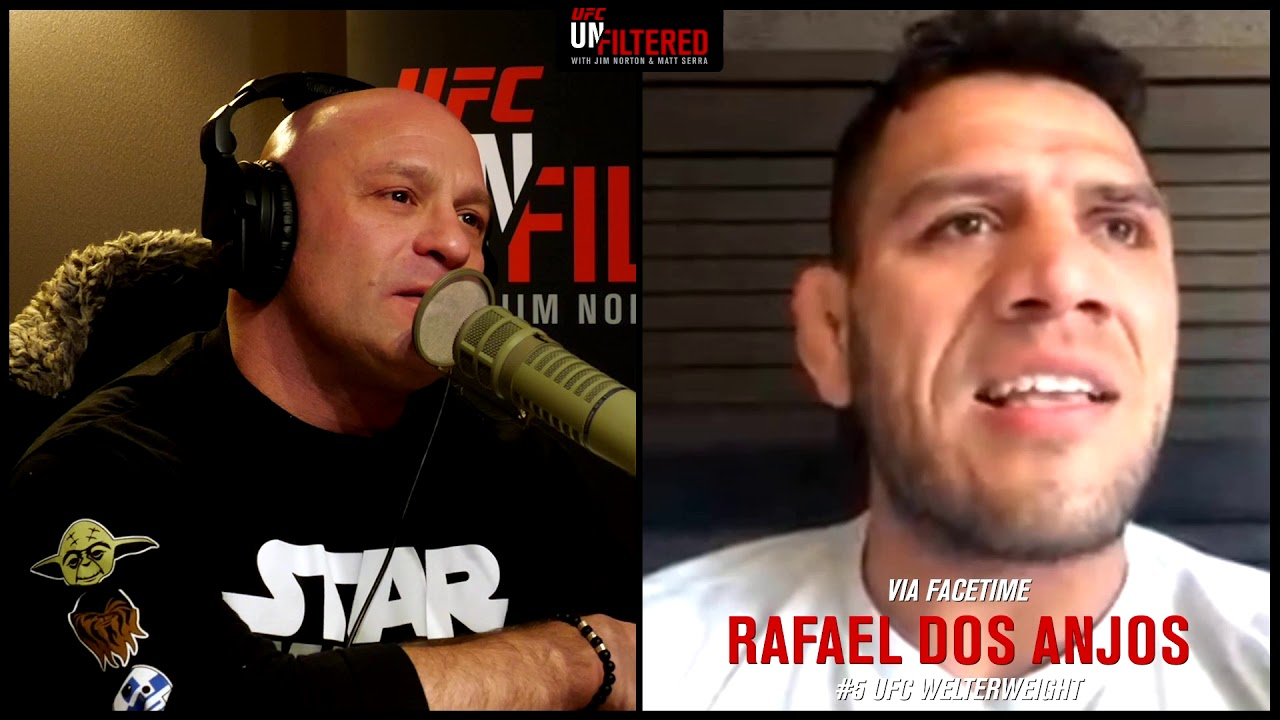 Rafael dos Anjos discusses Chiesa matchup and missing out on McGregor fight