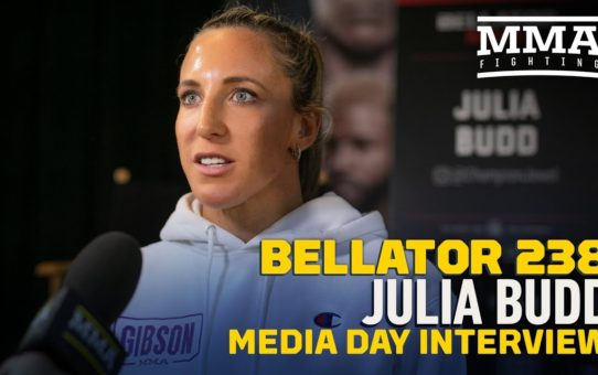 Bellator 238: Champ Julia Budd Says Beating Cris Cyborg 'So Important' For Career   – MMA Fighting