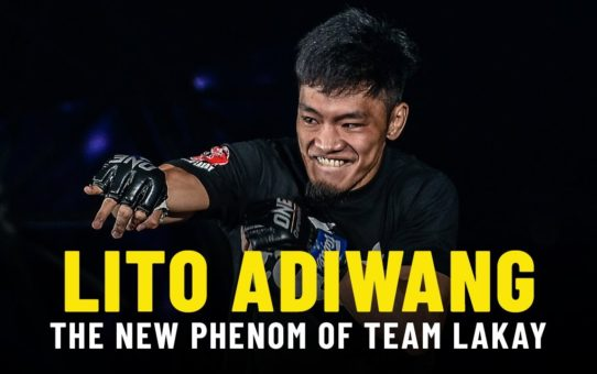 Lito Adiwang Is THE NEW PHENOM Of Team Lakay