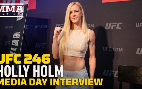 UFC 246: Holly Holm Says 'It's Been A Rough Year, But I Made It Through' – MMA Fighting