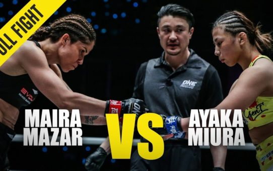 Maira Mazar vs. Ayaka Miura | ONE Full Fight | January 2020