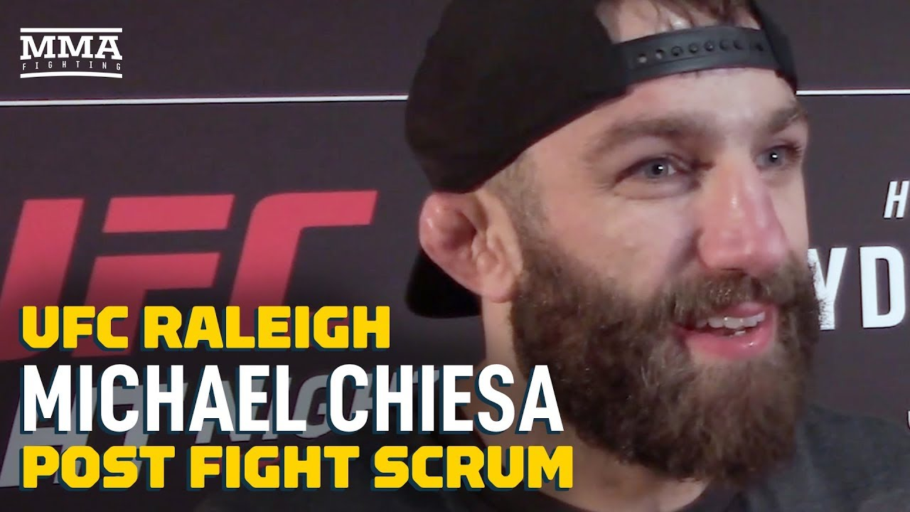 UFC Raleigh: Michael Chiesa Explains Why He Called Out Colby Covington - MMA Fighting