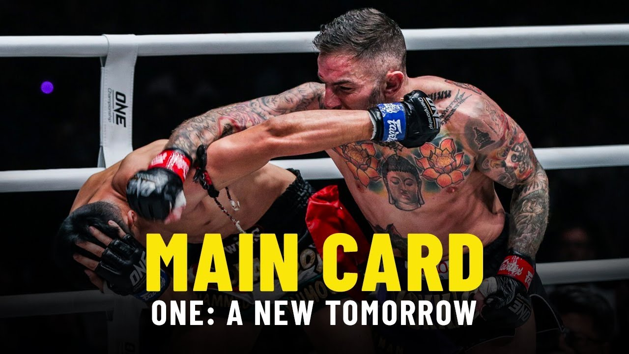 ONE: A NEW TOMORROW Main Card | ONE Highlights
