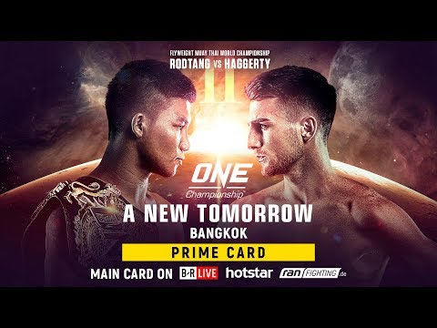 ONE Championship: A NEW TOMORROW Prime Card