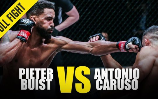 Pieter Buist vs. Antonio Caruso | ONE Full Fight | October 2019