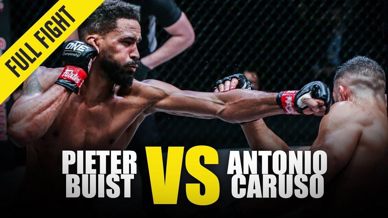 Pieter Buist vs. Antonio Caruso | ONE Full Fight | October 2019