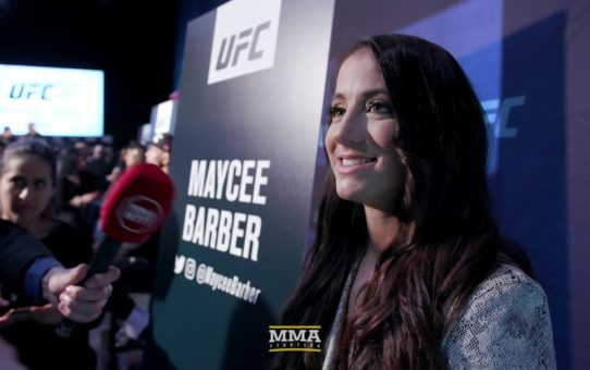 UFC 246: Maycee Barber Doesn't Make Friends With People She Wants To Beat Up – MMA Fighting