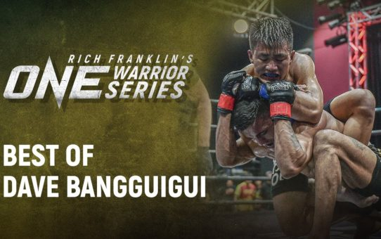 Rich Franklin's ONE Warrior Series | Best Of Dave Bangguigui