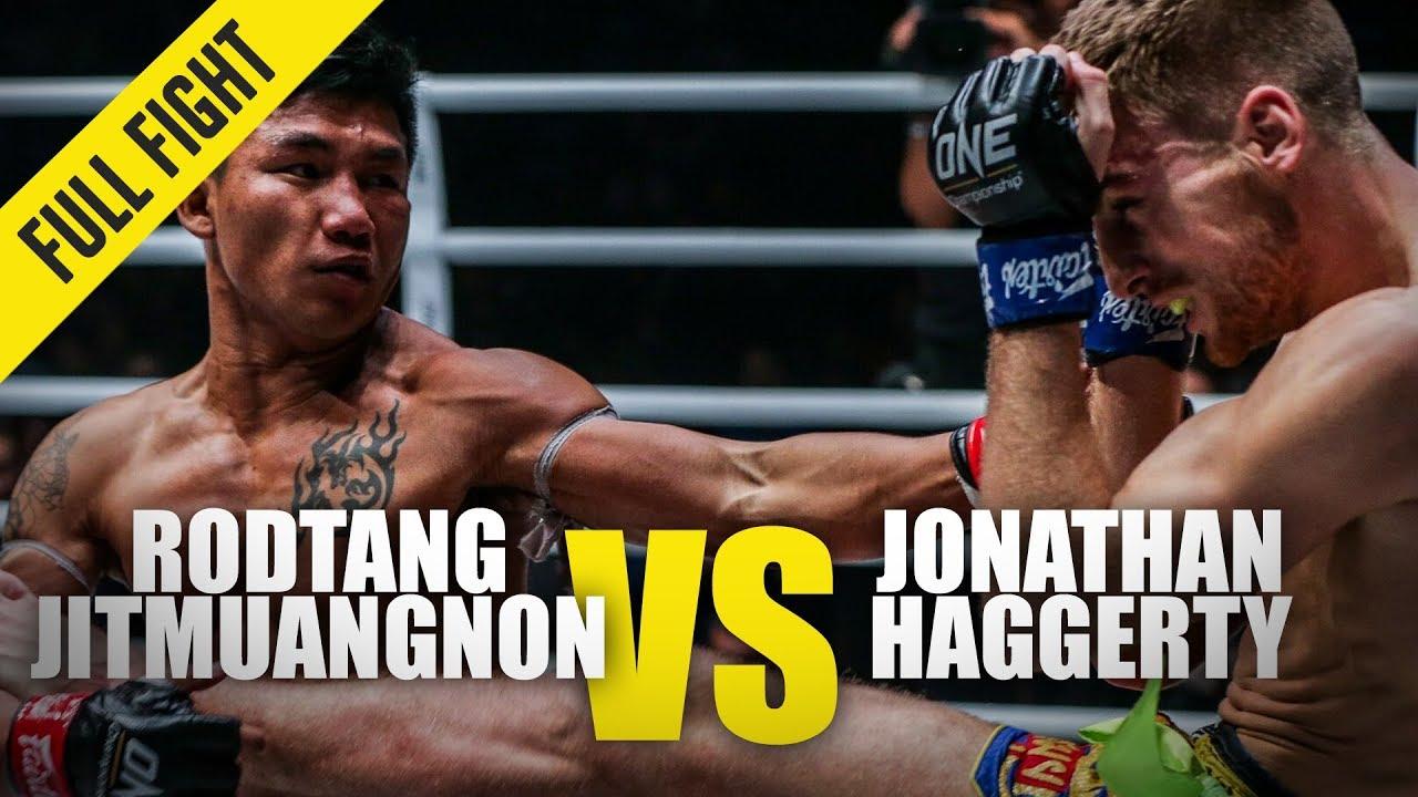 Rodtang Jitmuangnon vs. Jonathan Haggerty | ONE Full Fight | January 2020