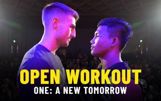 Rodtang vs. Jonathan Haggerty 2 Open Workout | ONE: A NEW TOMORROW