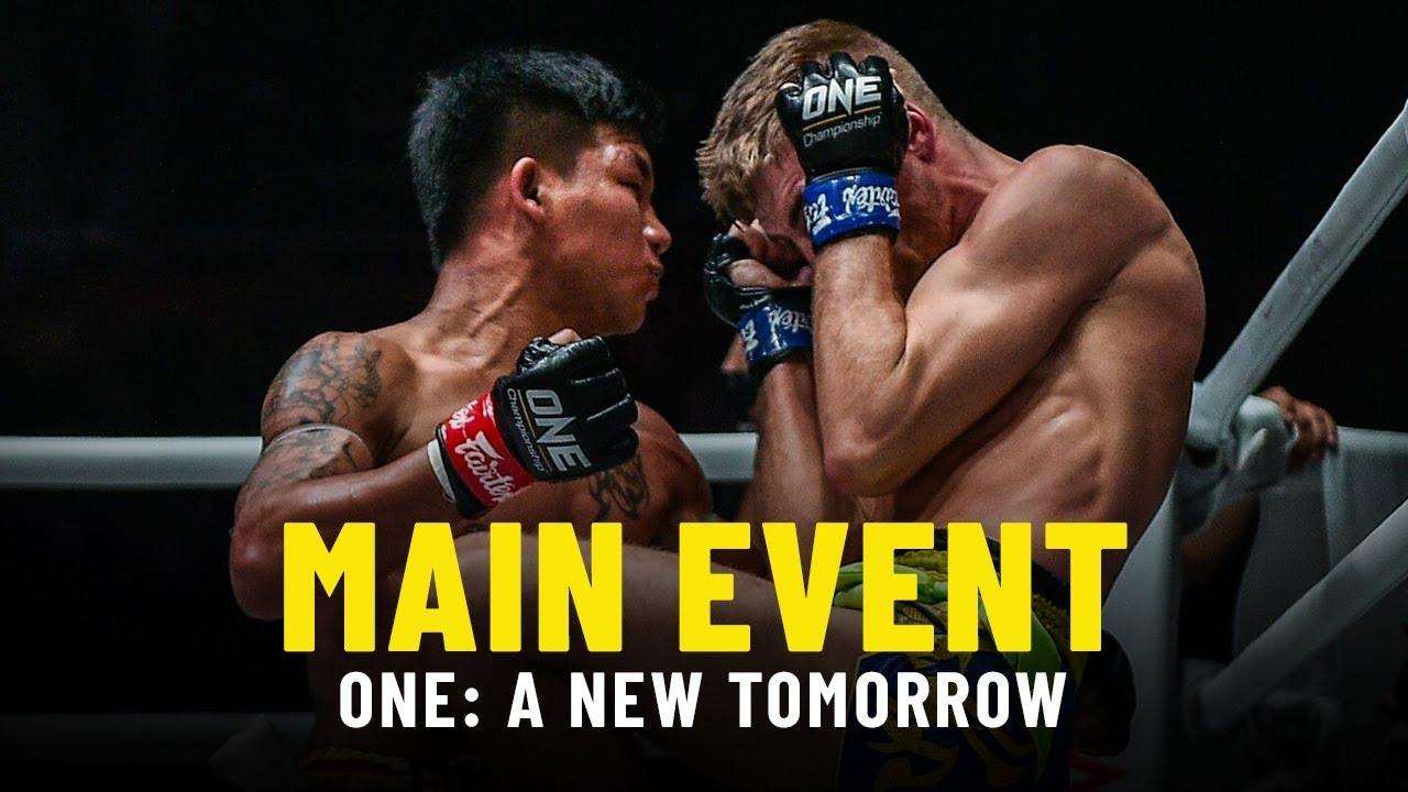 Rodtang vs. Jonathan Haggerty | ONE: A NEW TOMORROW Main Event Highlights
