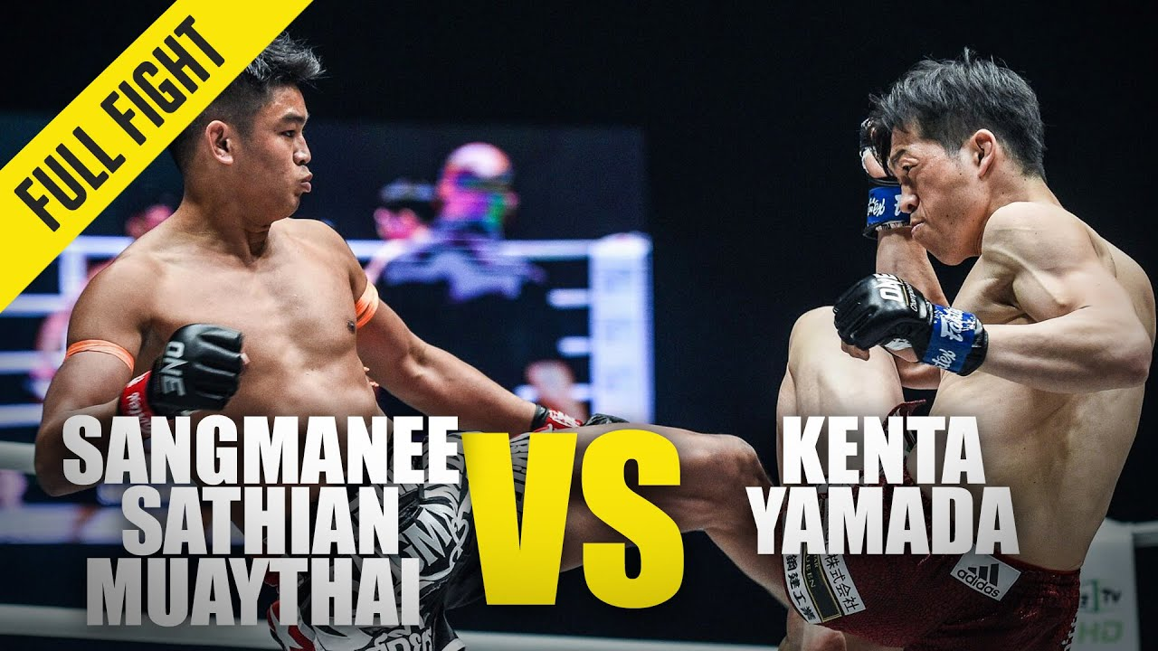 Sangmanee Sathian MuayThai vs. Kenta Yamada | ONE Full Fight | January 2020