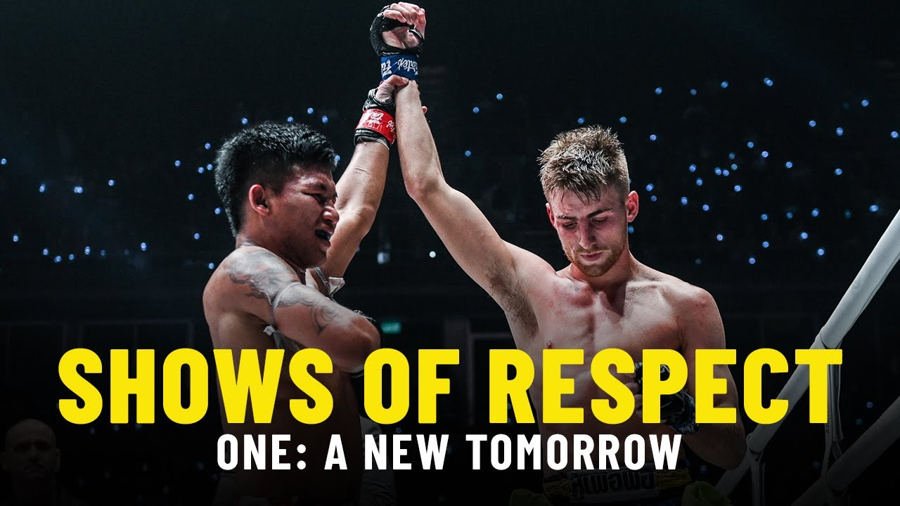 Shows Of Respect | ONE: A NEW TOMORROW