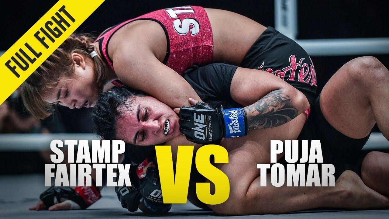 Stamp Fairtex vs. Puja Tomar   ONE Full Fight   January 2020
