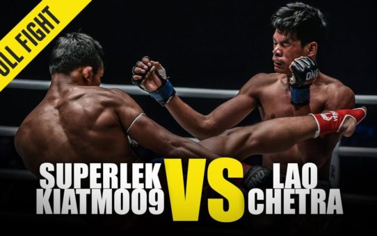 Superlek Kiatmoo9 vs. Lao Chetra | ONE Full Fight | February 2019