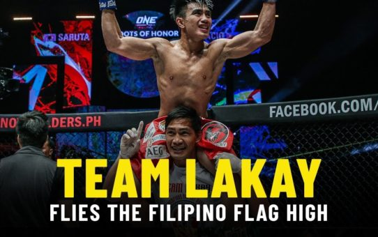 Team Lakay Flies The Filipino Flag High