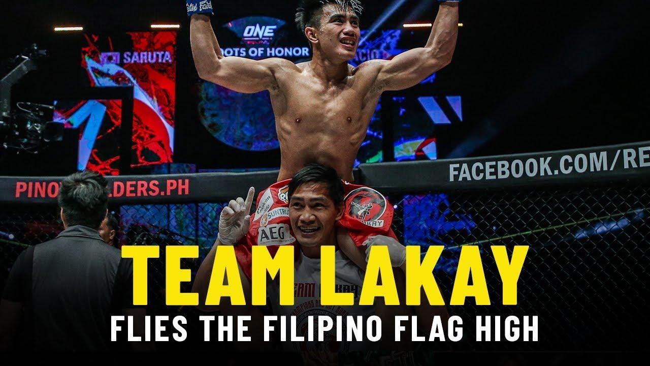Team Lakay Flies The Filipino Flag High