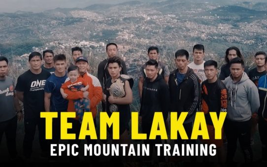 Team Lakay's EPIC Mountain Training