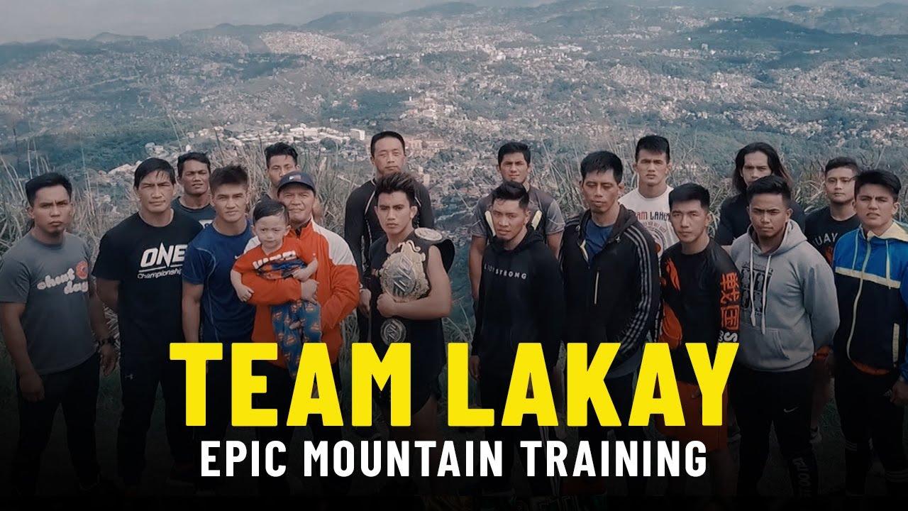 Team Lakay's EPIC Mountain Training