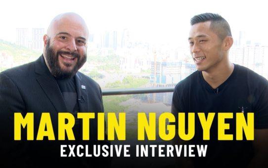 The Secrets Of Martin Nguyen's EPIC Flying Knee Knockout