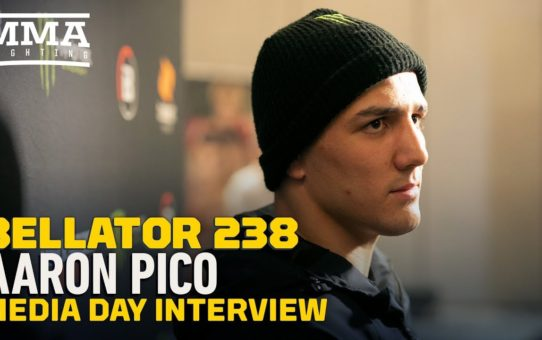 Bellator 238: Aaron Pico Calls MMA Losses 'Lack of Understanding' – MMA Fighting