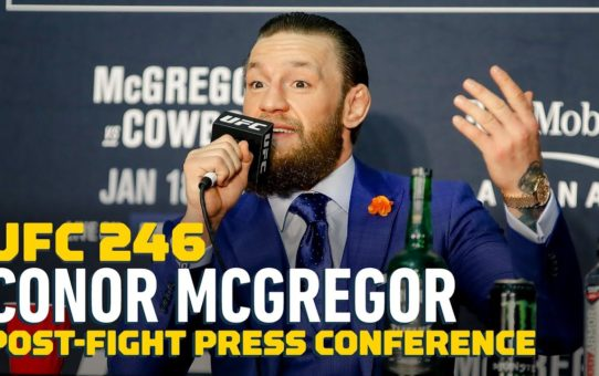 UFC 246: Conor McGregor Post-Fight Press Conference – MMA Fighting