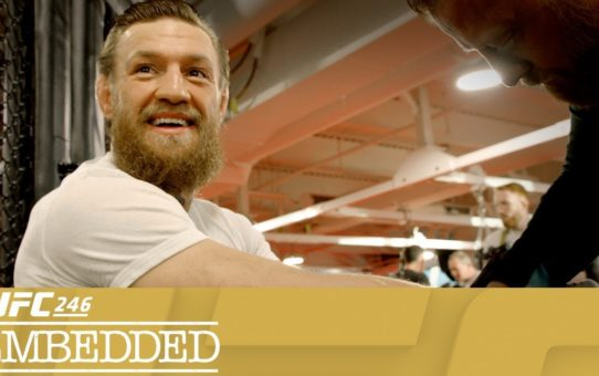 UFC 246 Embedded: Vlog Series – Episode 2
