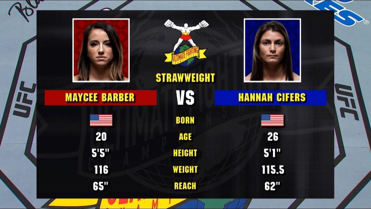 UFC 246 Free Fight: Maycee Barber vs Hannah Cifers
