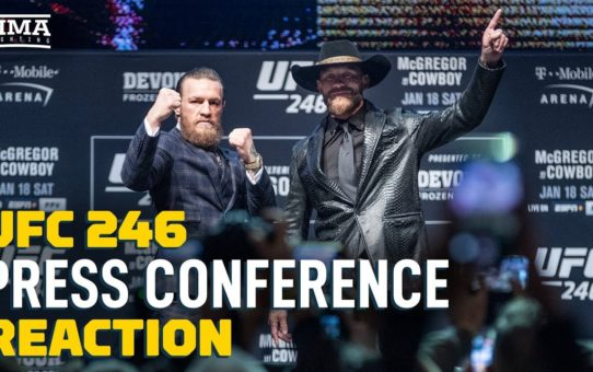 UFC 246 Press Conference Reaction Video – MMA Fighting