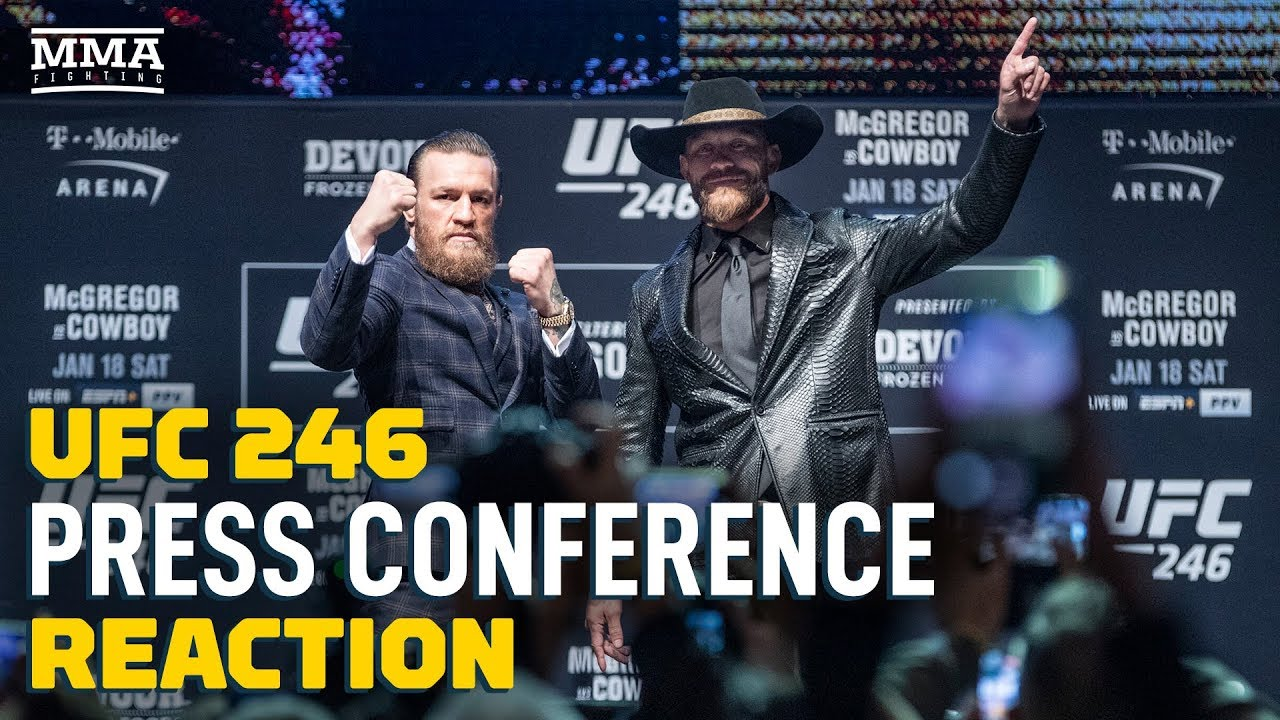 UFC 246 Press Conference Reaction Video - MMA Fighting