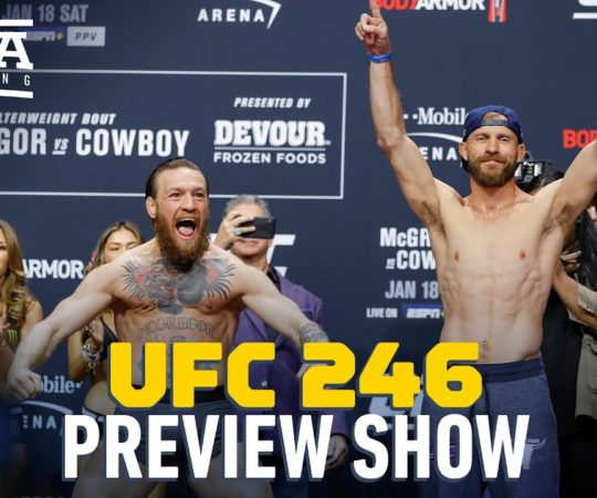 UFC 246 Preview Show – MMA Fighting