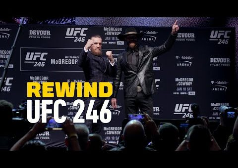 UFC 246 Rewind: Conor McGregor Knocks Out 'Cowboy' Cerrone