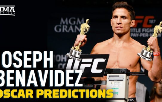 UFC's Joseph Benavidez Gives 2020 Oscar Predictions – MMA Fighting