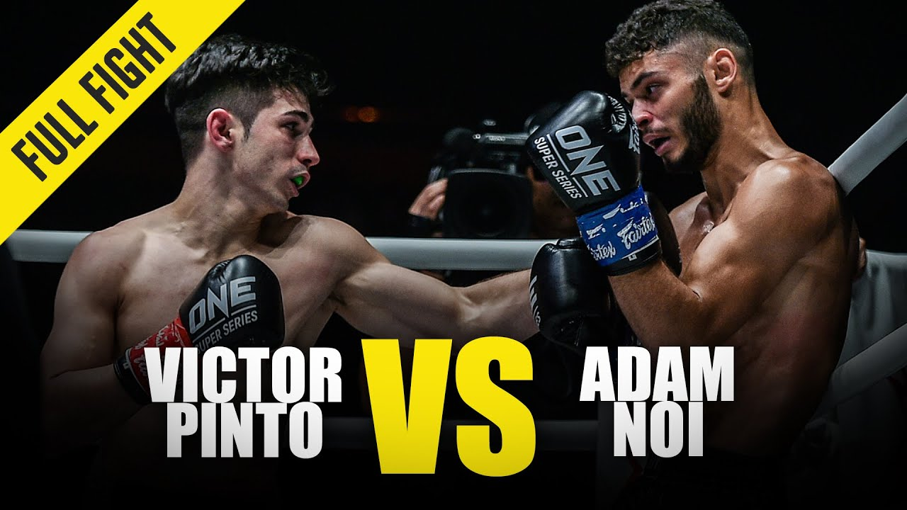 Victor Pinto vs. Adam Noi | ONE Full Fight | January 2020
