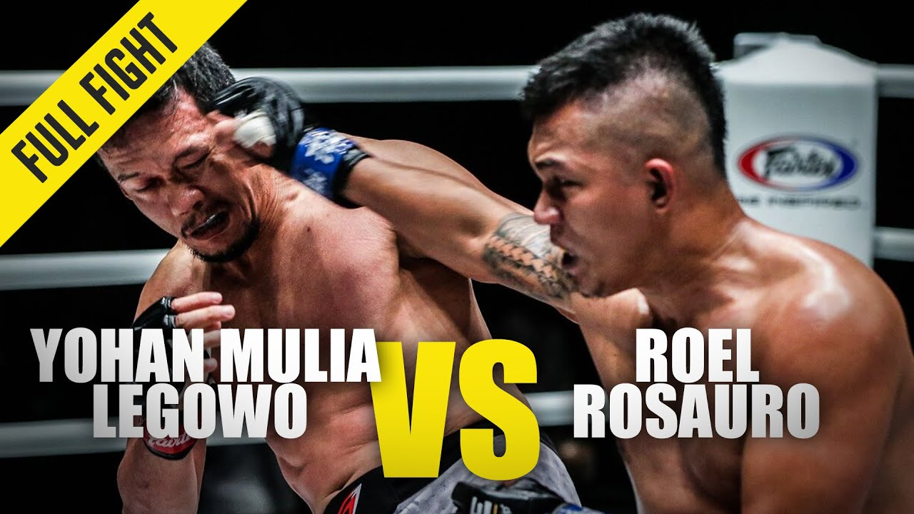 Yohan Mulia Legowo vs. Roel Rosauro | ONE Full Fight | January 2020