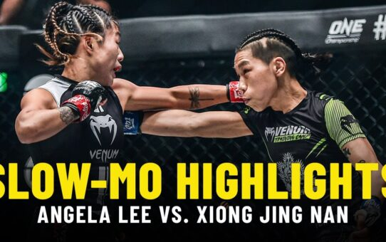 Angela Lee vs. Xiong Jing Nan 2 | Slow-Mo Fight Highlights
