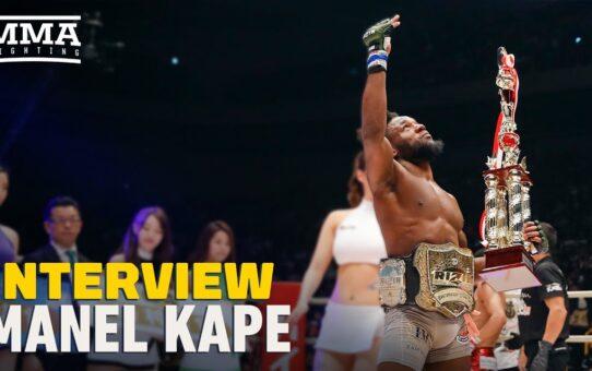 Manel Kape Targeting 'Big Dog' Flyweight For UFC Debut: 'I Feel Like I'm a Champion' – MMA Fighting