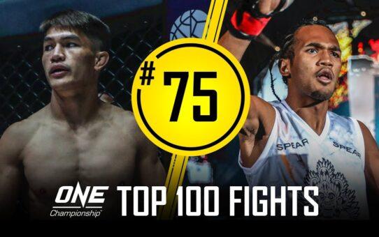 Danny Kingad vs. Muhammad Aiman | ONE Championship's Top 100 Fights | #75