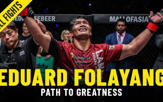 Eduard Folayang's Path To Greatness | ONE Full Fights & Features