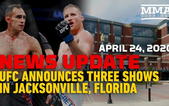 UFC Announces 3 Cards Set for May in Jacksonville Reaction – MMA Fighting