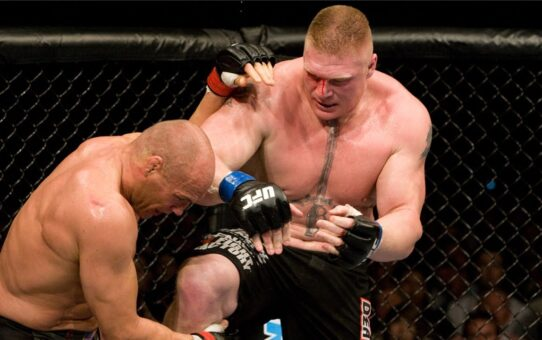 Free Fight: Brock Lesnar vs Randy Couture | UFC 91, 2008