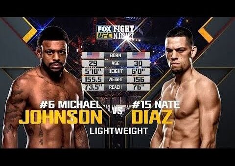 Free Fight: Nate Diaz vs Michael Johnson