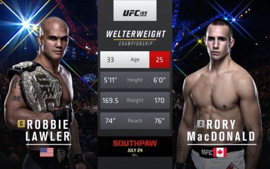 Free Fight: Robbie Lawler vs Rory MacDonald 2
