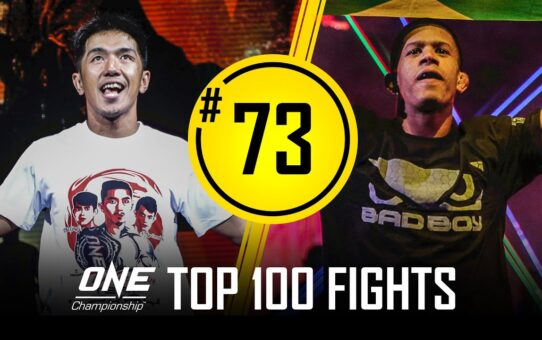 Geje Eustaquio vs. Adriano Moraes 2 | ONE Championship's Top 100 Fights | #73