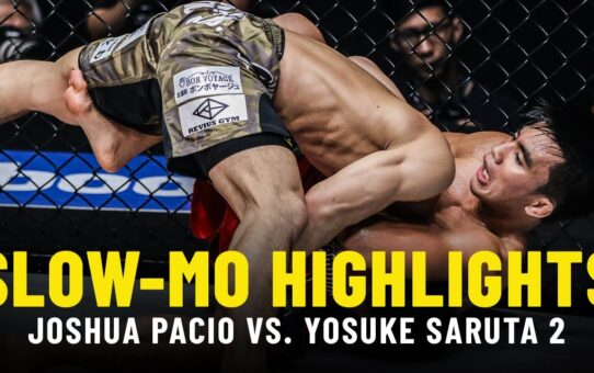 Joshua Pacio vs. Yosuke Saruta 2 | Slow-Mo Fight Highlights