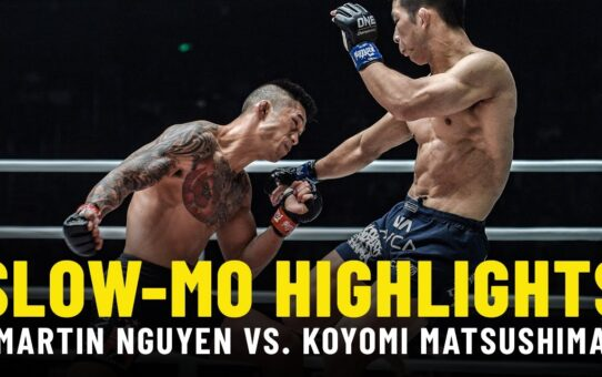 Martin Nguyen vs. Koyomi Matsushima | Slow-Mo Fight Highlights