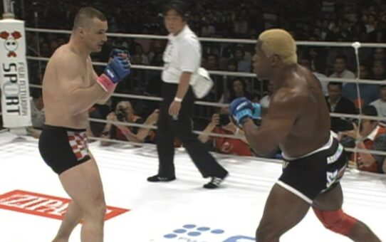 On This Day: Kevin Randleman vs Mirko Cro Cop 1 | PRIDE FC Free Fight