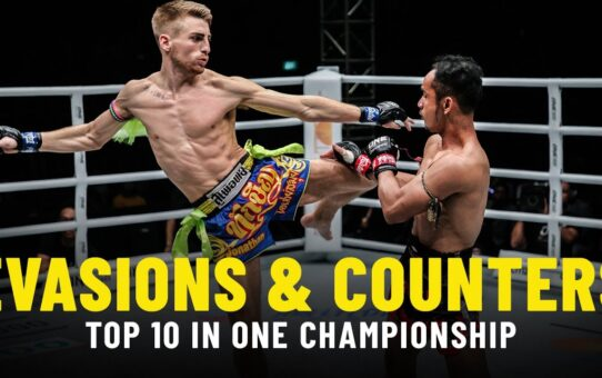 ONE Championship's Top 10 Evasions & Counters